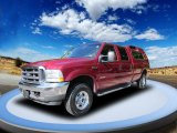2003 Toreador Red Metallic Ford F250 Super Duty Lariat Crew Cab 4x4 #53464322