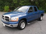 2006 Atlantic Blue Pearl Dodge Ram 1500 SLT Quad Cab #53410349