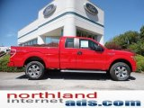 2011 Race Red Ford F150 STX SuperCab 4x4 #53544953