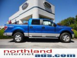 2011 Blue Flame Metallic Ford F150 XLT SuperCrew 4x4 #53544955