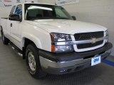 2004 Summit White Chevrolet Silverado 1500 Z71 Extended Cab 4x4 #53463916