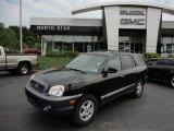 2003 Black Obsidian Hyundai Santa Fe LX 4WD #53545143