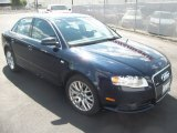 2008 Deep Sea Blue Pearl Effect Audi A4 2.0T quattro S-Line Sedan #53544986