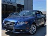 2008 Ocean Blue Pearl Effect Audi A4 2.0T quattro S-Line Sedan #53545151