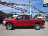 2008 Dodge Ram 1500 Blaze Red Crystal Pearl