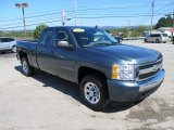 2008 Chevrolet Silverado 1500 LS Extended Cab 4x4 Front 3/4 View