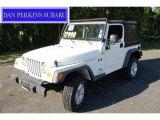 2006 Stone White Jeep Wrangler X 4x4 #53544849