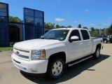 2011 Summit White Chevrolet Silverado 1500 LT Crew Cab 4x4 #53463301