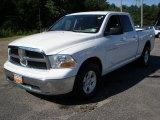 2011 Bright White Dodge Ram 1500 SLT Quad Cab 4x4 #53598301