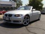 2009 Titanium Silver Metallic BMW 3 Series 335i Convertible #53598373
