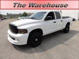 2005 Bright White Dodge Ram 1500 ST Quad Cab #53598317
