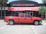2005 Victory Red Chevrolet Silverado 1500 LS Extended Cab #53598411
