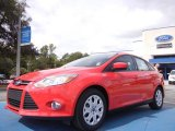 2012 Race Red Ford Focus SE Sedan #53598426