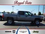 2007 Graystone Metallic Chevrolet Silverado 1500 Crew Cab #53598353