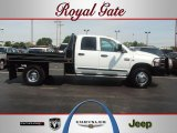 2007 Bright White Dodge Ram 3500 ST Quad Cab 4x4 Dually #53598356