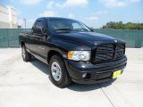 2004 Black Dodge Ram 1500 SLT Regular Cab #53598558
