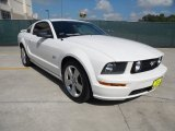 2007 Performance White Ford Mustang GT Premium Coupe #53598562