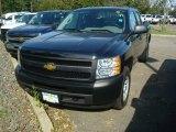 2011 Black Chevrolet Silverado 1500 LS Extended Cab 4x4 #53621575