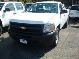 2011 Summit White Chevrolet Silverado 1500 Regular Cab #53621581