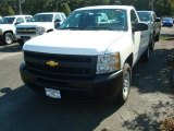 2011 Summit White Chevrolet Silverado 1500 Regular Cab #53621582