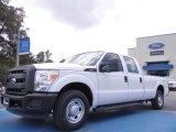 2012 Oxford White Ford F250 Super Duty XL Crew Cab #53621740