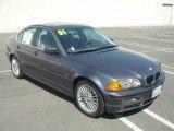 2001 Steel Grey Metallic BMW 3 Series 330i Sedan #53621675
