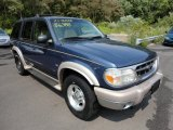 2001 Medium Wedgewood Blue Metallic Ford Explorer Eddie Bauer 4x4 #53621835