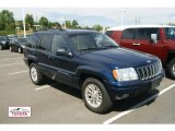 2002 Patriot Blue Pearlcoat Jeep Grand Cherokee Limited 4x4 #53621538