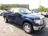 2011 Dark Blue Pearl Metallic Ford F150 XLT SuperCab 4x4 #53621767