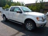 2011 White Platinum Metallic Tri-Coat Ford F150 XLT SuperCab 4x4 #53621769