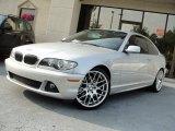 2005 Titanium Silver Metallic BMW 3 Series 330i Coupe #53621858