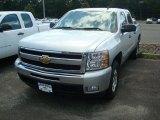 2011 Sheer Silver Metallic Chevrolet Silverado 1500 LT Crew Cab 4x4 #53621559