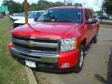 2011 Victory Red Chevrolet Silverado 1500 LT Extended Cab 4x4 #53621561