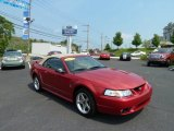 2001 Laser Red Metallic Ford Mustang Cobra Convertible #53621775