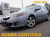 2009 Glacier Blue Metallic Acura TSX Sedan #53639714