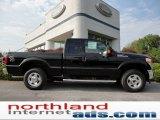 2012 Black Ford F250 Super Duty XLT SuperCab 4x4 #53639722