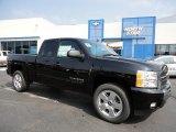 2011 Black Chevrolet Silverado 1500 LT Extended Cab 4x4 #53639774