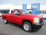 2011 Victory Red Chevrolet Silverado 1500 Regular Cab #53639778