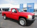 2011 Victory Red Chevrolet Silverado 1500 Regular Cab 4x4 #53639779