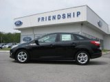 2012 Black Ford Focus SE Sport Sedan #53647643