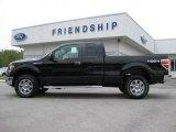 2011 Ebony Black Ford F150 XLT SuperCab 4x4 #53647634