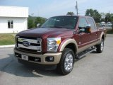 2012 Ford F350 Super Duty King Ranch Crew Cab 4x4 Data, Info and Specs