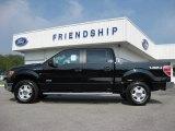 2011 Ebony Black Ford F150 XLT SuperCrew 4x4 #53647626