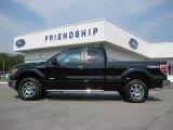 2011 Ebony Black Ford F150 XLT SuperCab 4x4 #53647627