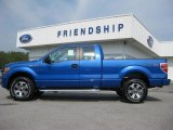 2011 Blue Flame Metallic Ford F150 STX SuperCab 4x4 #53647628