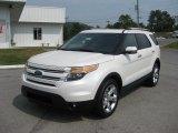 2012 Ford Explorer White Platinum Tri-Coat