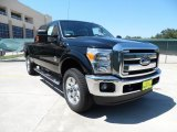 2012 Black Ford F250 Super Duty Lariat Crew Cab 4x4 #53651186