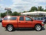 2008 Sunburst Orange Pearl Dodge Ram 1500 Big Horn Edition Quad Cab 4x4 #53651229