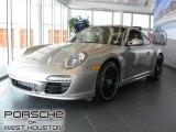2012 Platinum Silver Metallic Porsche 911 Carrera 4 GTS Coupe #53651280