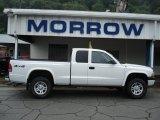 2004 Bright White Dodge Dakota Sport Club Cab 4x4 #53651137